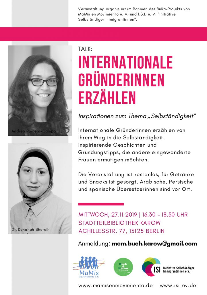 Flyer_TALK-InternationaleGründerinnenErzählen