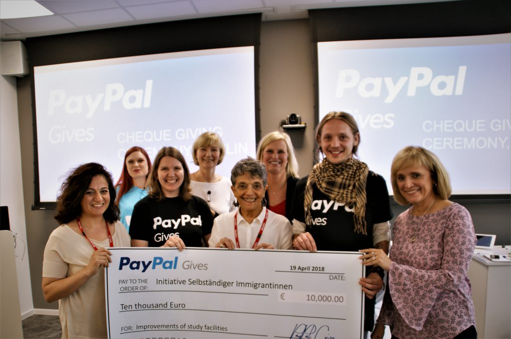 Paypals Spende für I.S.I.